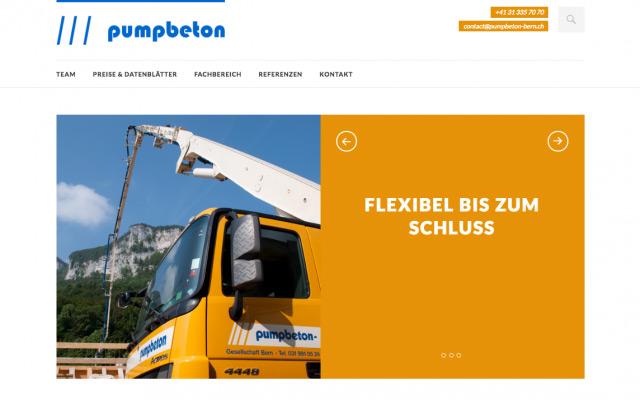 Webdesign, Responsive Wordpress Bern
