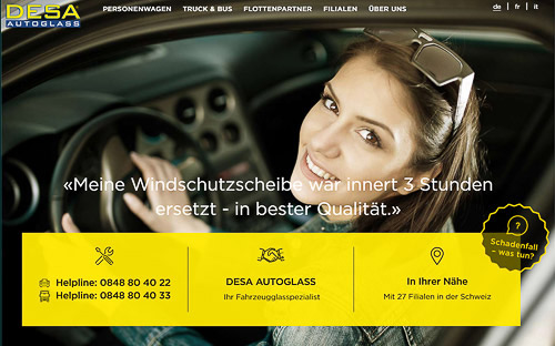 AdWords Konzepte, Webdesign Bern